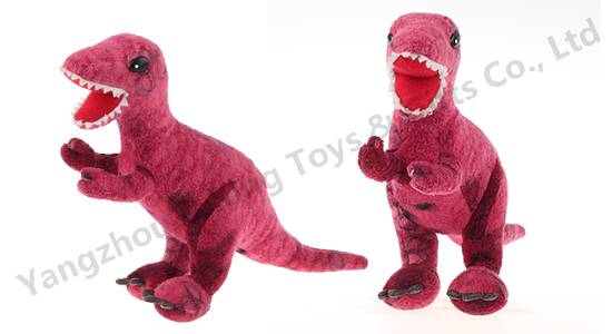 China supplier plush dinosaur soft toy for kids