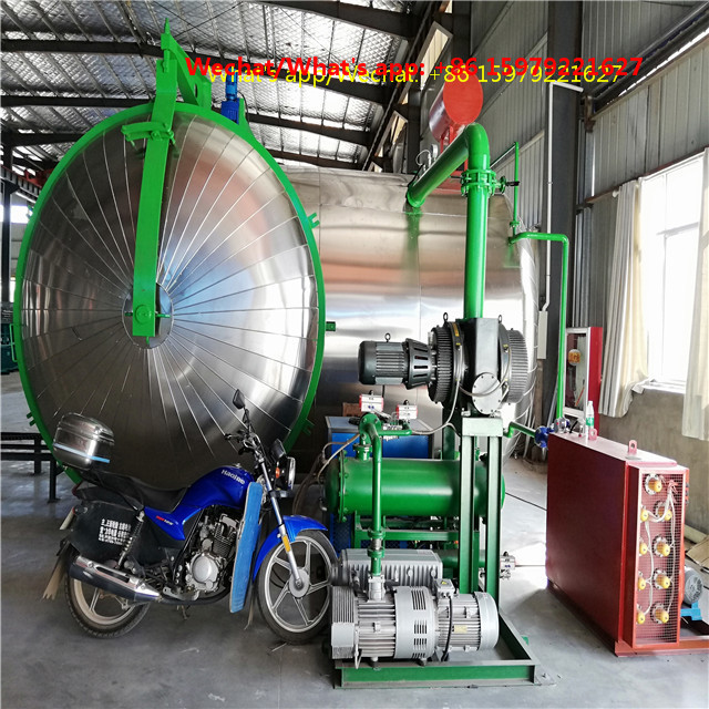Vacuum drying machines and vacuum oiling equipment for transformer