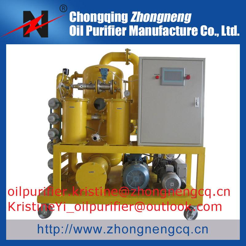 Double-Stage Vacuum Transformer Oil Purifier  Series ZYD