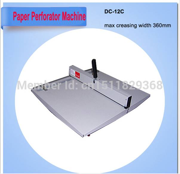 manually paper creasing machine