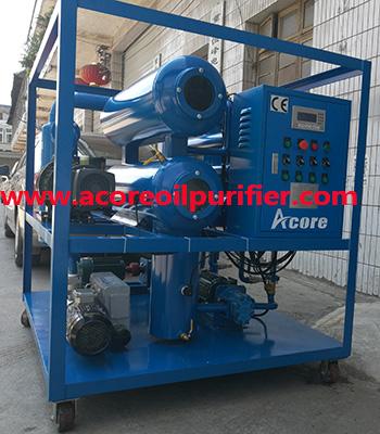 Machine for Processing Transformer Oil