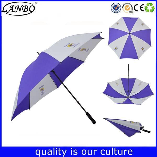 China Supplier manual open straight golf umbrella travel hotel umbrella