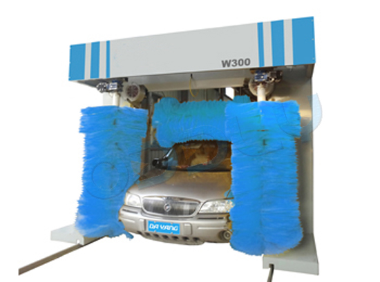 automatic rollover car wash machine with 5 brushes W300
