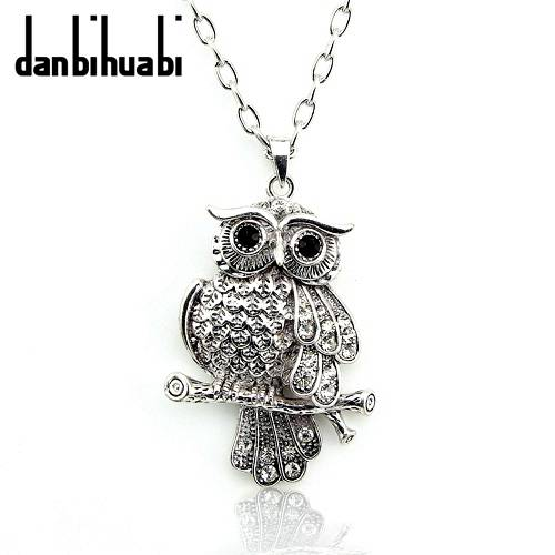 fashion jewelry ow animal pendants alloy necklace for christmas gift Nc012