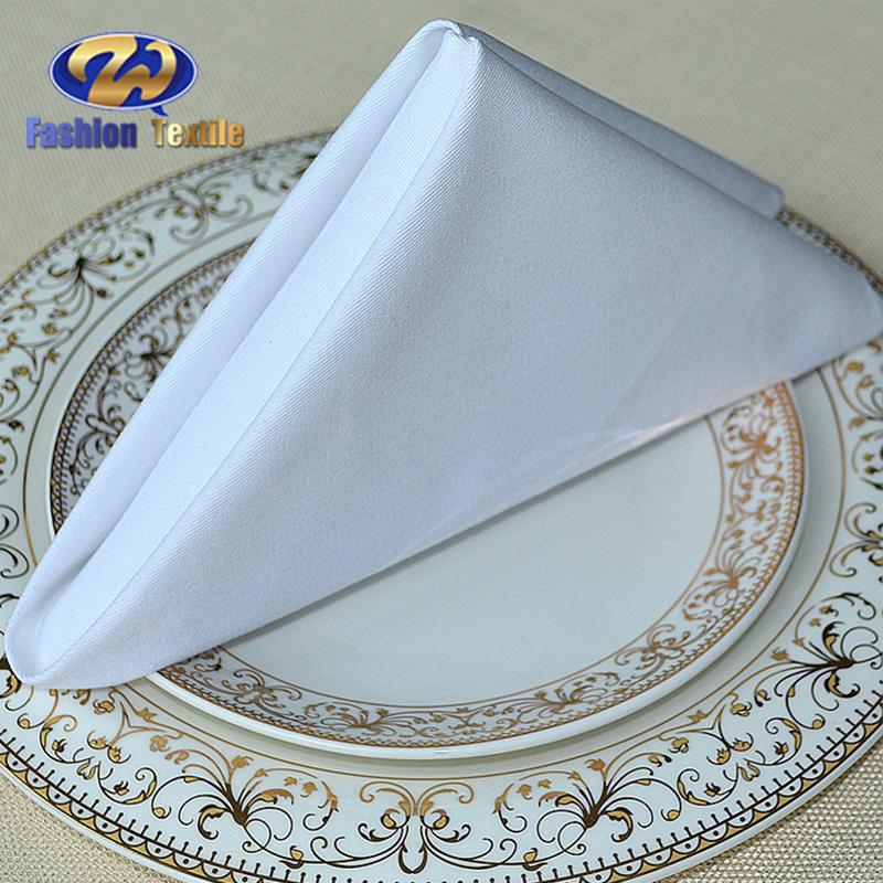 White cotton table cloth napkins