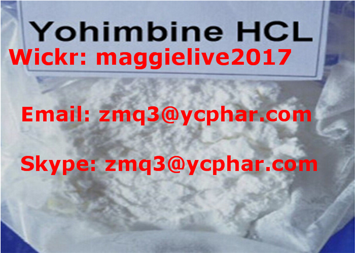 99.6% Purity Male Enhancement Powder Yohimbine Hydrochloride BP Standard CAS 65-19-0