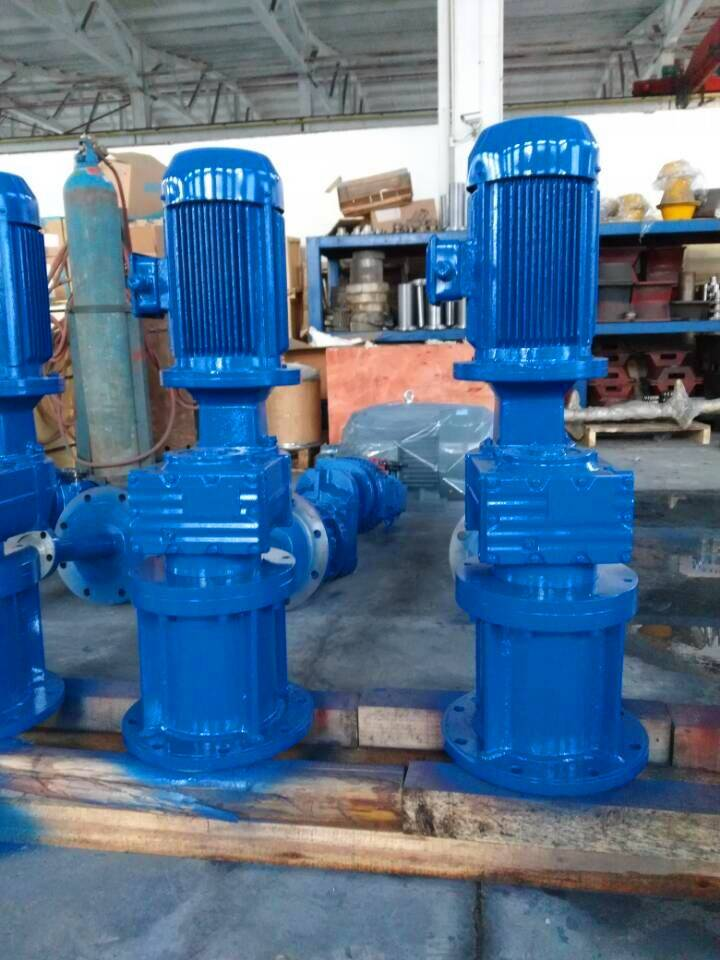 industrial stainless steel waste water treatment mixer agitator