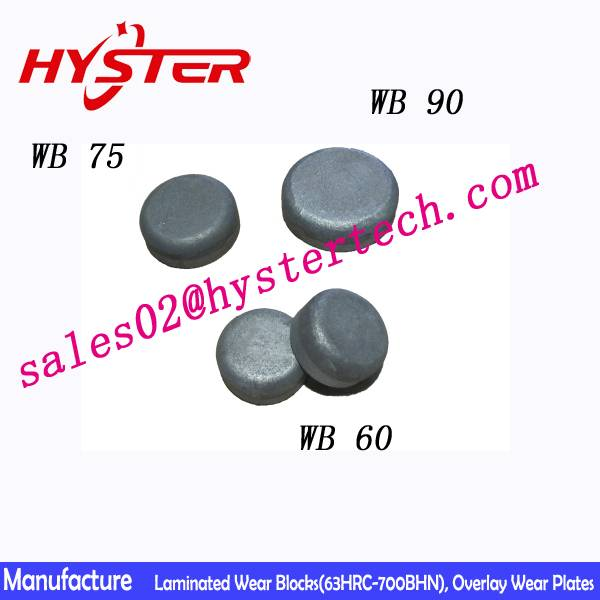 63HRC ASTM A532 wear button for bucket wear protection china manufacturer