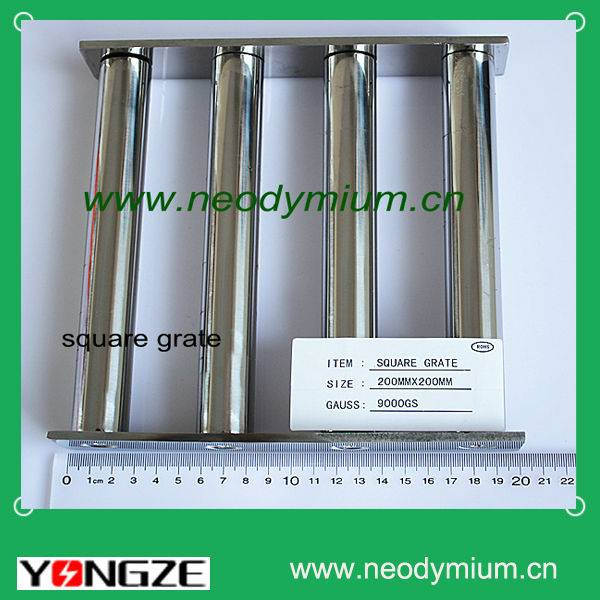 Square Neodymium Grate Magnet