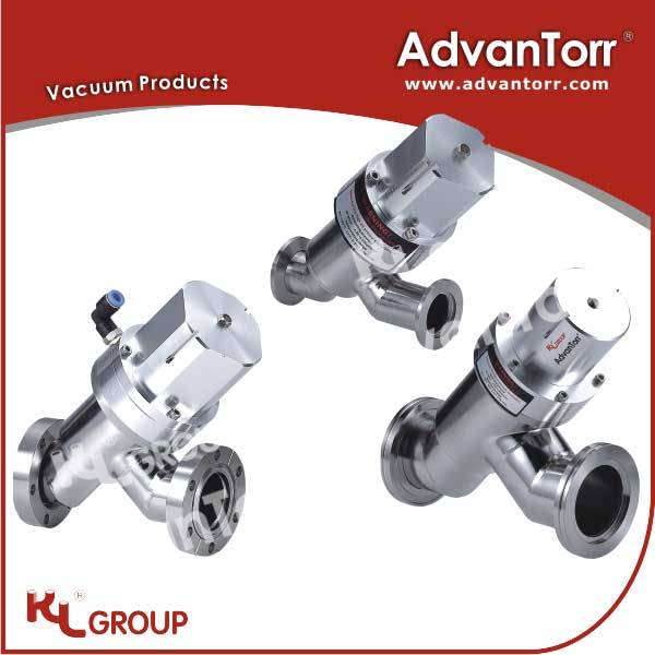 KL Group - AdvanTorr CF Flange Pneumatic Inline Poppet Valves