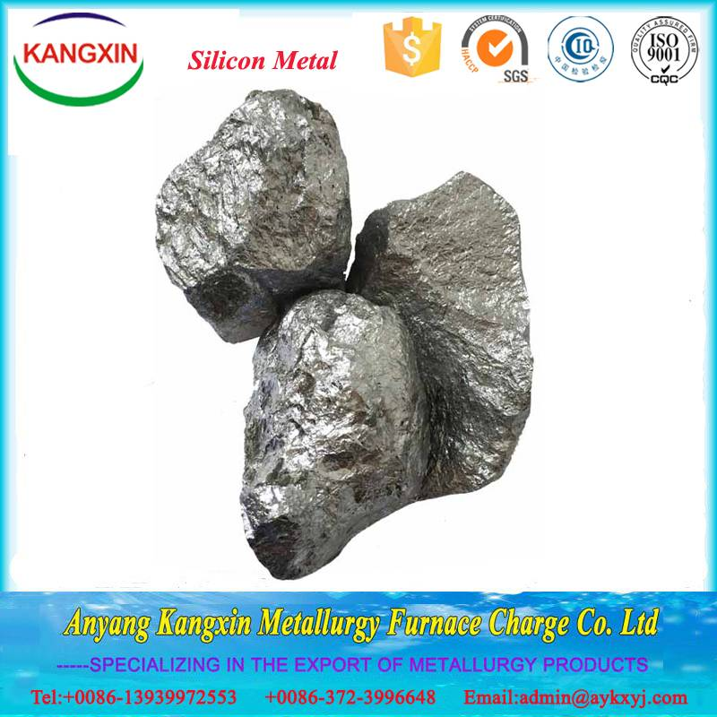 Silicon metal 553 for steelmaking and casting