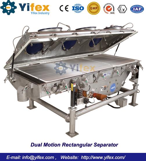 Dual Motion Rectangular Separator