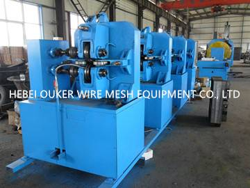 Multiple-roll wire machine