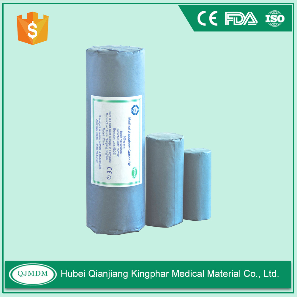 High Quality Surgical Absorbent Medical cotton roll