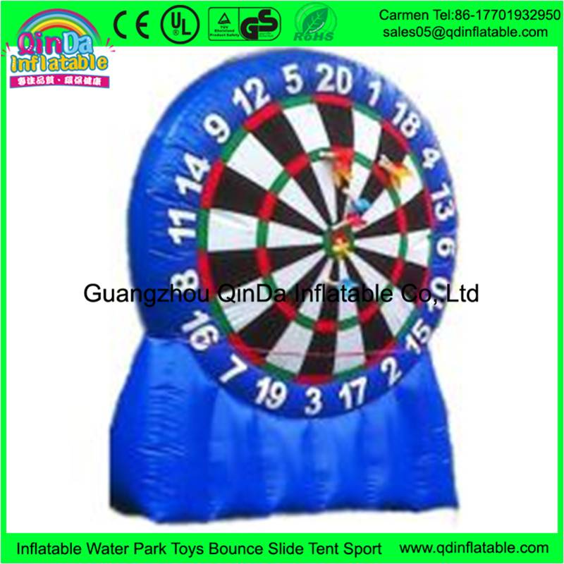 One of the best selling inflatable toys for kids and adults playing dart games giant inflatable dart