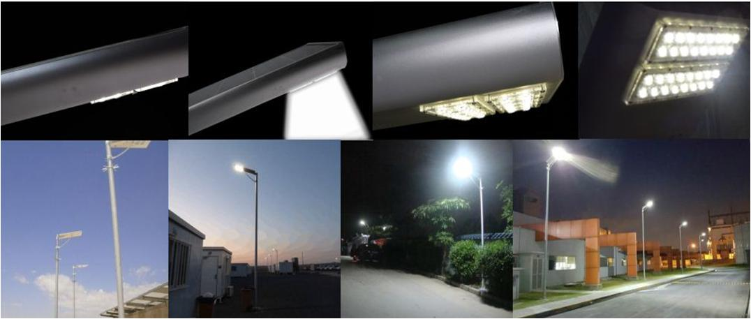 Rechargeable LiFe PO Battery Smart Solar Street Light with Motion Sensor