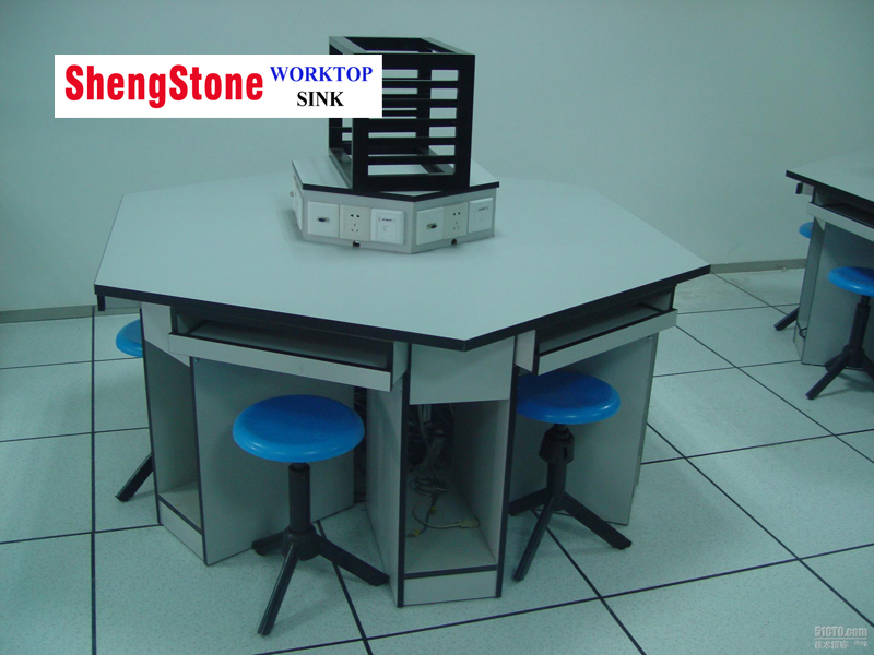 School laboratory or computer room phenolic or compact board worktops,good price counterts