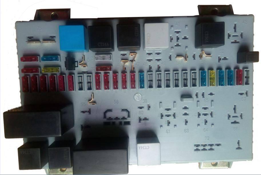 MAN TRUCK relay box,relay box,relay fuse box,fuse box 81.25444.6060