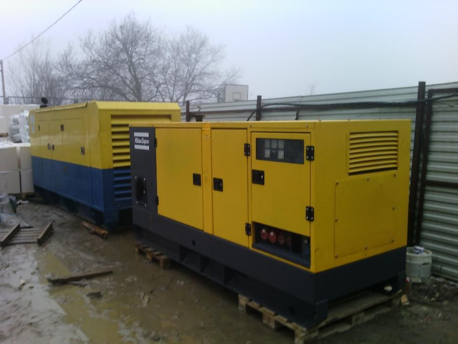 Used generators from Europe.