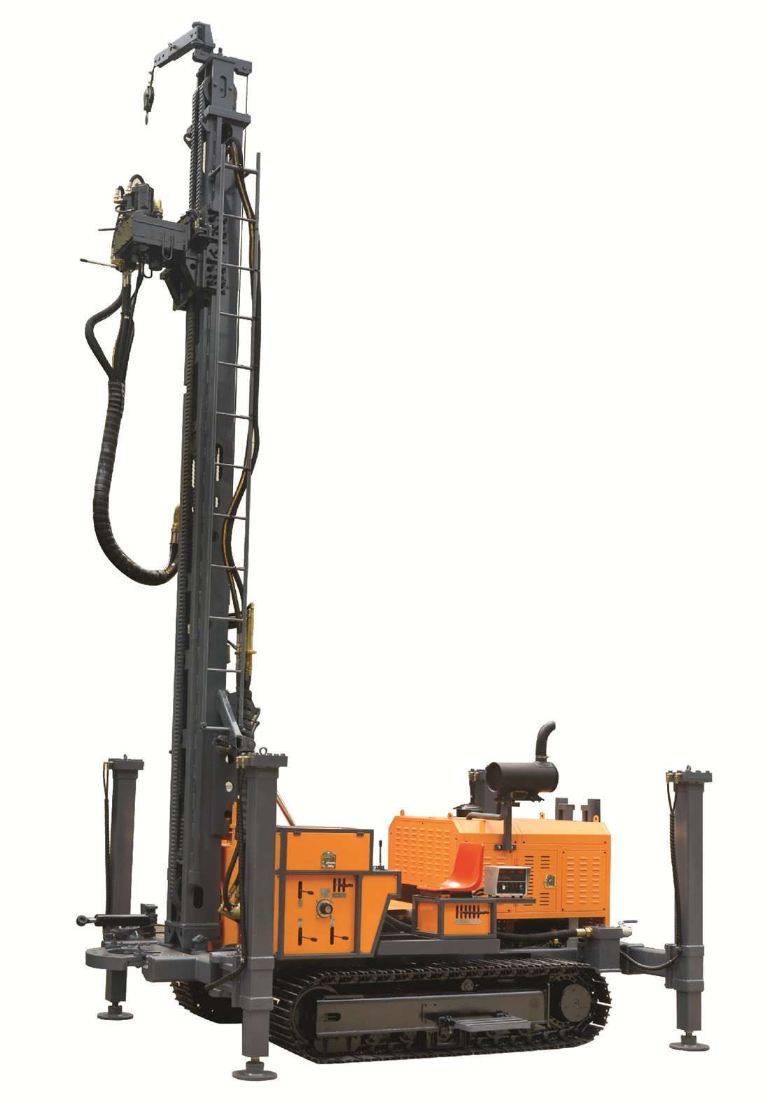 KW400 water well drill rig