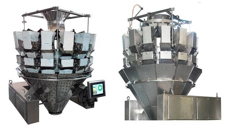 14 heads double door multihead weigher manufacturer in CHINA