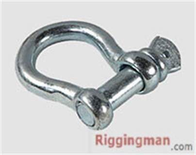 RIGGING JIS TYPE SCREW PIN ANCHOR SHACKLE WITH OR WITHOUT COLLAR