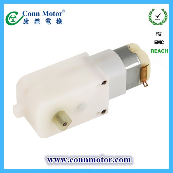 plastic gearbox motor for electronic door lock and electric switch