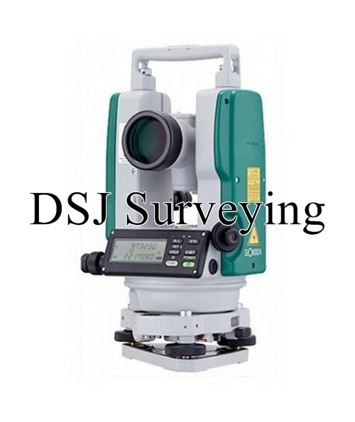 "Sokkia DT540L 5"" Digital Theodolite with Laser Pointer, Dual Display"