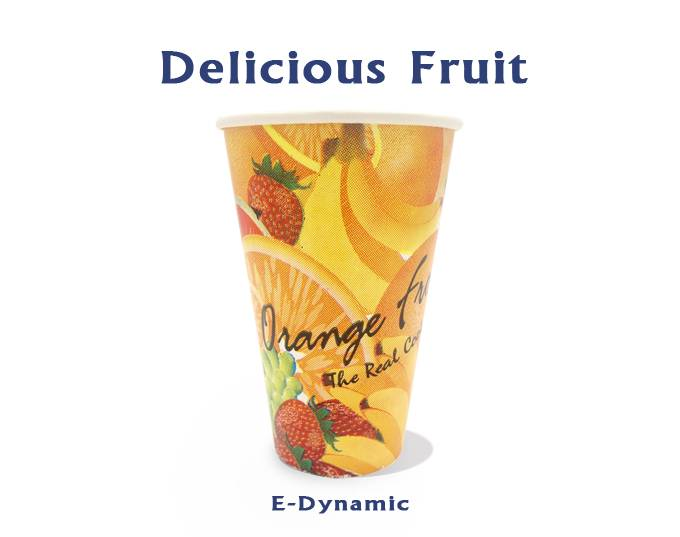 12 Oz Single PE Coated Flexo Printed Paper Sheet Paper Fan For Paper Cup Coffee Cup Fruit Juice Cup