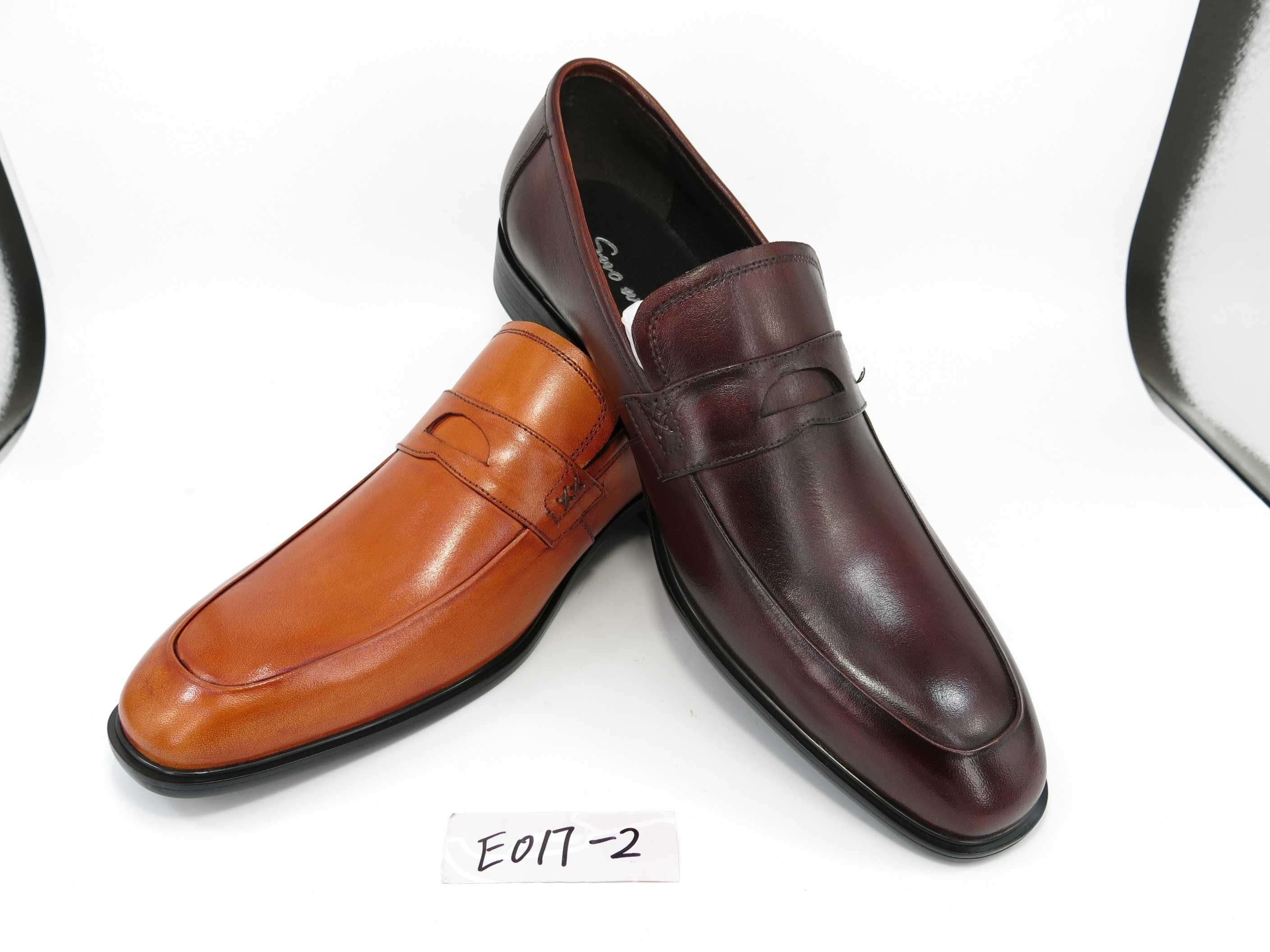 2017 newest real leather luxury shoes for men