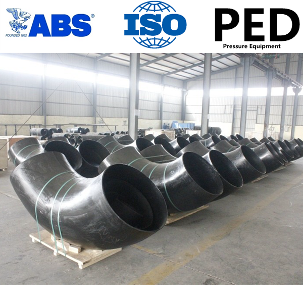 ASTM A234 WPB carbon steel butt weld seamless pipe fittings
