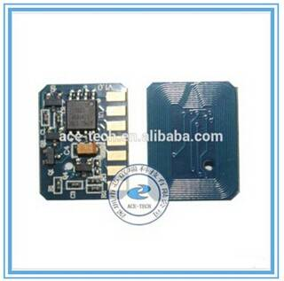 High Quality Consumable Color Toner Cartridge Chip Compatible for OKI C801/821 Cartridge Chip