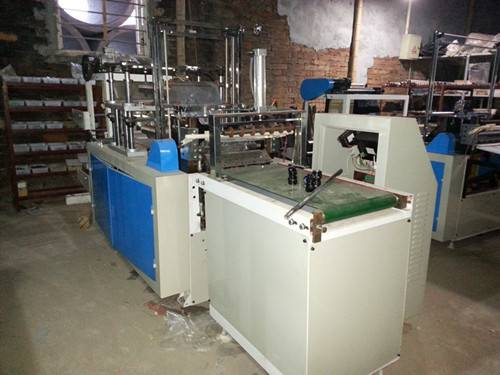 Trustworthy WG 500 double layer Disposable Glove making Machine