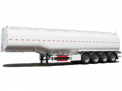 Steel 54000L 4 Axle Tank Semi-trailer