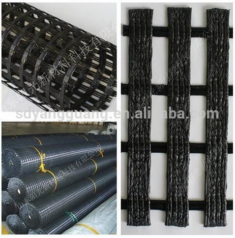 Roadbed used material geogrid biaxial with CE/ISO certified