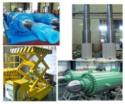 Cylinder for offshore plants