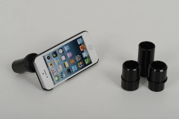 Slit Lamp Photography Adapter for iPhone 3, 4, 4s, 5, 5s, 6 and 6 Plus
