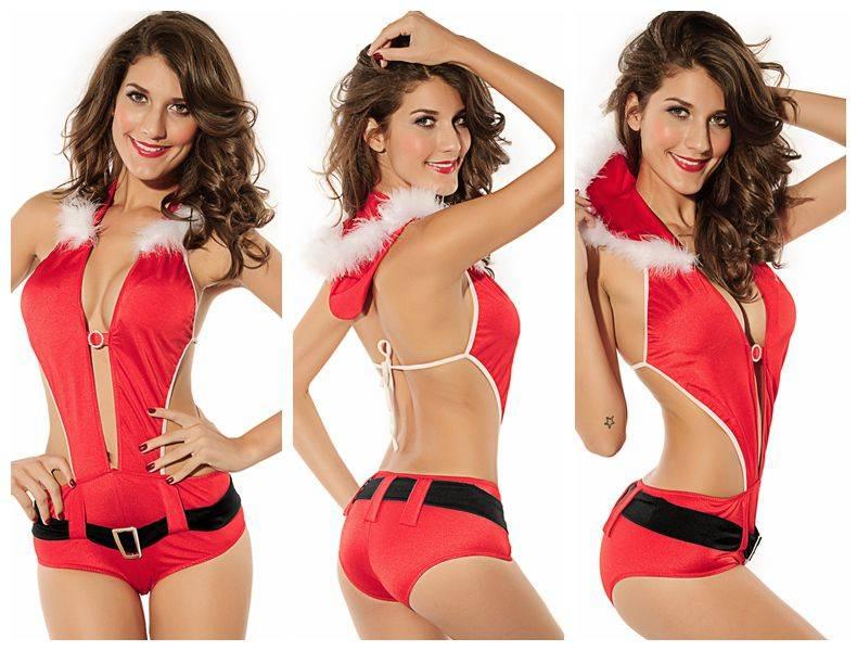 Playful Santa Lingerie Costume