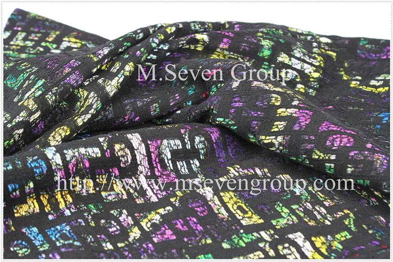 Hot sale lace laminate fabric, polyester printed fabric,lace composite knitting fabric