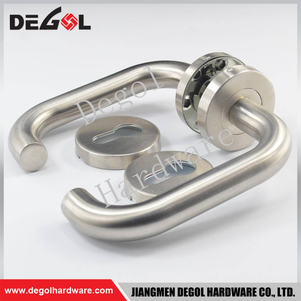 Chinese wholesale stainless steel tube 304 door handle kitchen