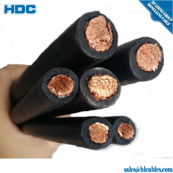 Rubber sheathed flexible cable