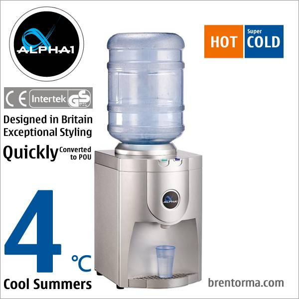 ALPHA 1 Exceptionally Styled Bench Top Water Cooler