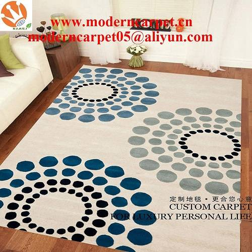 china hand tufted modern area rugs