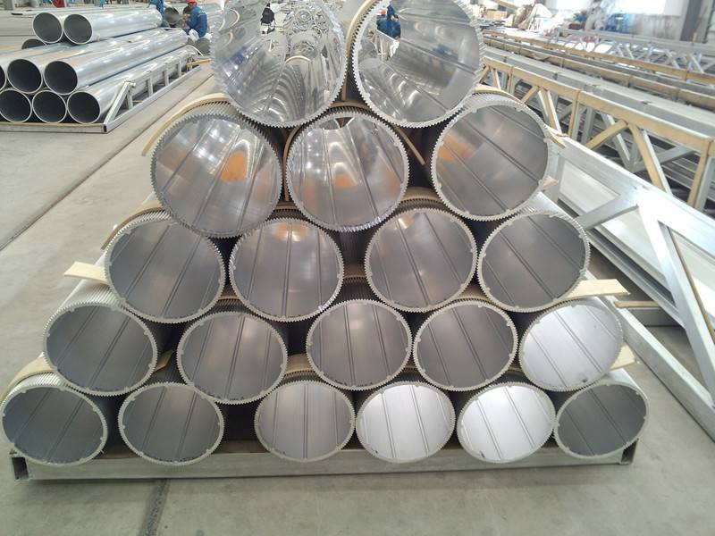Hollow Aluminium pipe