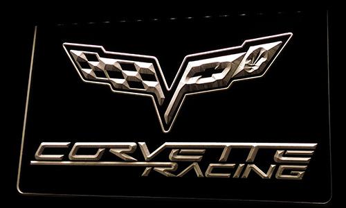 Ls218-w Corvette Racing Neon Light Sign