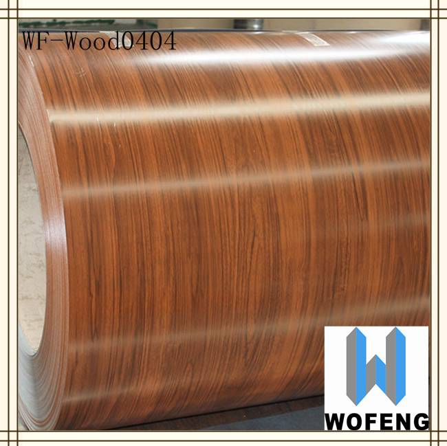 wood grain color pre-painted steel coil wooden wall and ceiling