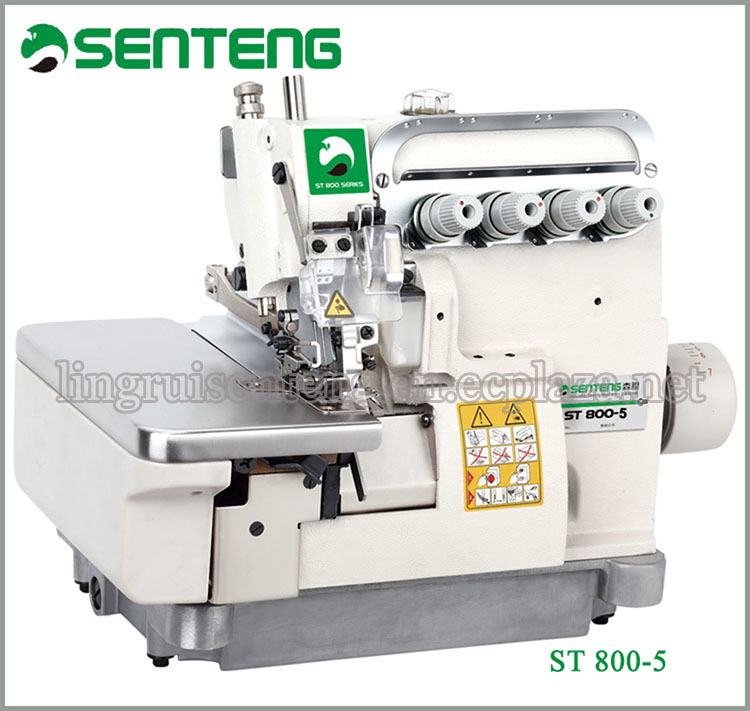 ST 800-5 Four-thread Overlock High Speed Sewing Machine