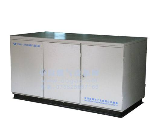 Natural gas regulator box/cabinet/