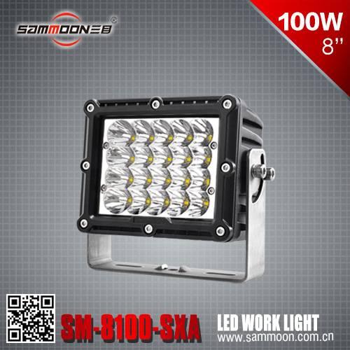 8 Inch 100W cree LED Work Light