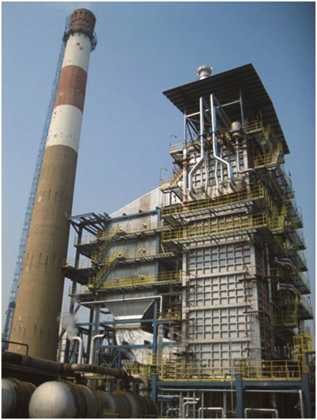 Waste Heat Boiler with flue gas desulfidation & denitrification device for catalytic cracking unit